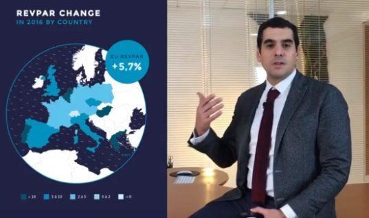 MKG: Ρεκόρ αύξησης εσόδων ανά δωμάτιο στα ελληνικά ξενοδοχεία το 2017