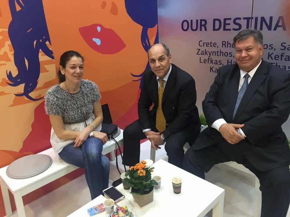 Ο πρόεδρος της Ένωσης Ξενοδόχων Ρεθύμνου Μαν Τσακαλάκης σταθερή αξία όλα τα χρόνια στην ΙΤΒ
