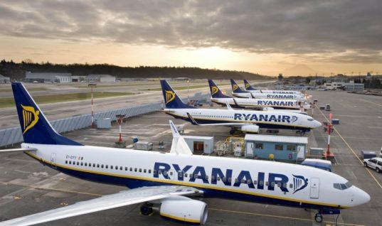 Ryanair: Προειδοποιεί για εποχικότητα και τουριστικό… comeback της Τουρκίας