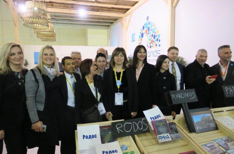 Η Περιφέρεια Νοτίου Αιγαίου αναδεικνύεται πρωταγωνίστρια και στη Διεθνή Έκθεση Τουρισμού της Μόσχας (ΜΙΤΤ)