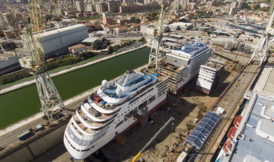 """Το τελευταίο κρουαζιερόπλοιο που έφτασε στα Χανιά…""""κόπηκε"""" στη μέση"""