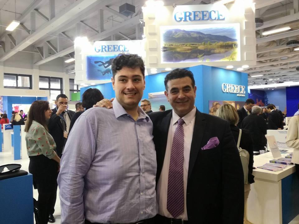 Οι κύριοι Γιώργος Μαραβελάκης και Δημήτρης Κουμπαράκης και φέτος με αισιοδοξία από το Βερολίνο