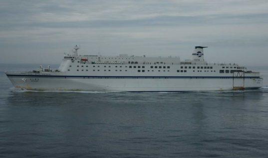 Το πλοίο που αγόρασε η ΑΝΕΚ LINES έναντι 8,5 εκατ. δολαρίων (φωτό)