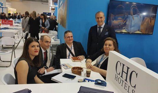 Με θετικά μηνύματα για την Κρήτη και δυναμική παρουσία του ομίλου Chnaris Hotel Management, Development &Consulting S.A ολοκληρώθηκε η ITB 2018