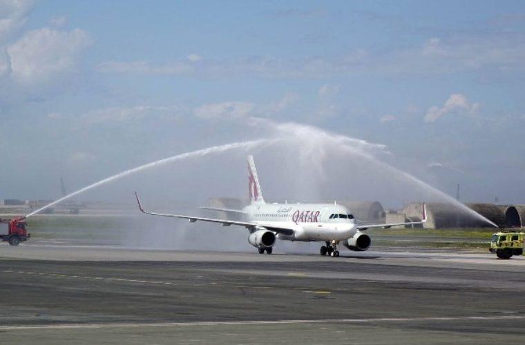 Την πρώτη απευθείας πτήση της Qatar Airways υποδέχτηκε η πόλη της Θεσσαλονίκης