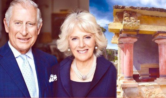 Στην Ελλάδα σήμερα ο πρίγκιπας της Ουαλίας και η δούκισσα της Κορνουάλης