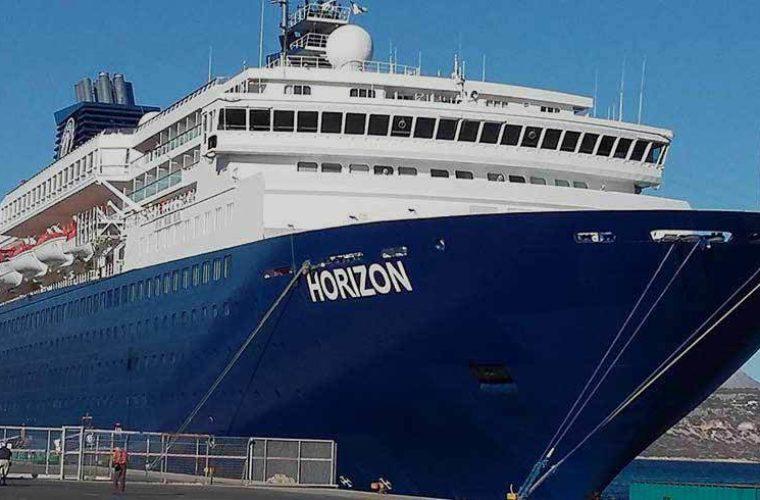 Έδεσε στο λιμάνι της Σούδας το κρουαζιερόπλοιο Horizon