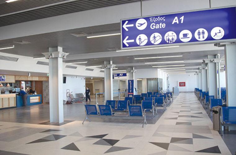Αποκλειστικό: Στις 30 Απριλίου τα εγκαίνια της νέας πτέρυγας του αεροδρομίου Ηρακλείου