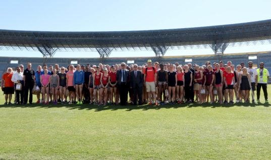 Αθλητές απ' όλο τον κόσμο στο Ηράκλειο για τις προπονήσεις τους