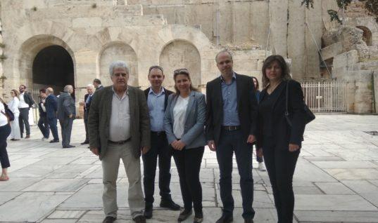 Η Ρόδος δυναμικά παρούσα στις εργασίες του συνεδρίου των Αμερικανών τουριστικών πρακτόρων ASTA  στην Αθήνα.