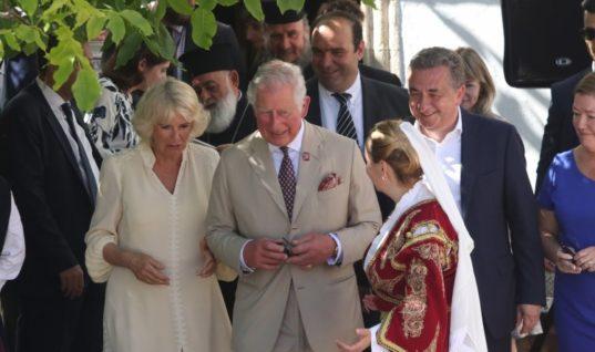 Η επίσκεψη του Πριγκιπικού ζεύγους στην Κνωσό (Pics&Video)