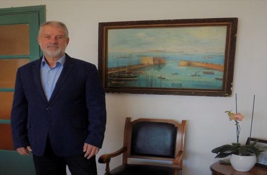 ο πρόεδρος και διευθύνων σύμβουλος του Οργανισμού Λιμένος Ηρακλείου (ΟΛΗ), Απόλλων Φιλιππής