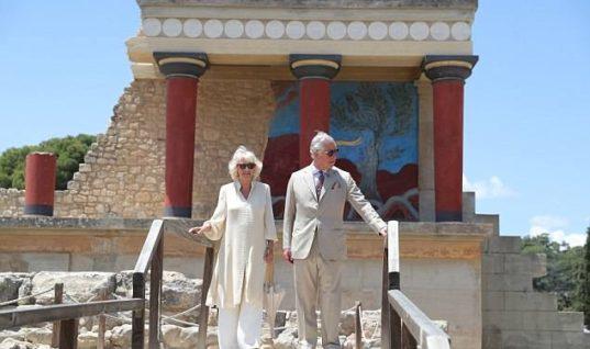 Κρήτη: Φωτογραφικό ρεπορτάζ από την επίσκεψη του πριγκιπικού ζεύγους