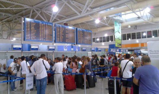 10 εκατ. επιβάτες διακινήθηκαν το α΄ τετράμηνο του 2018 στα αεροδρόμια-Αύξηση 6,4% σε σχέση με το 2017