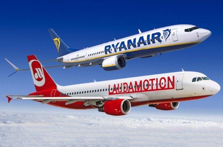 Η RyanAir – Laudamotion ακύρωσε πτήσεις και από το Ηράκλειο