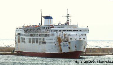 Ετοιμάζεται για το τελευταίο της ταξίδι η πάλαι ποτέ απαστράπτουσα ναυαρχίδα των Χανίων ΛΑΤΩ