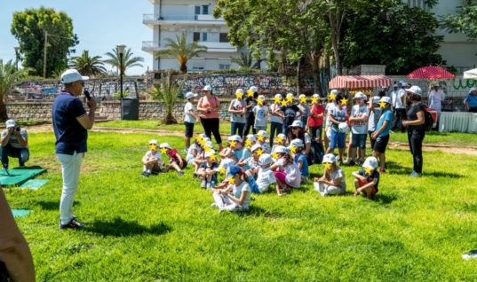 50 χρόνια Atlantis:  Έκαναν δενδροφύτευση στο πάρκο Υγείας