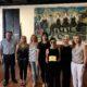 Η δημοφιλής σεφ Ελένη Ψυχούλη τιμήθηκε από την αντιδήμαρχο Τουρισμού Μαρίζα Χατζηλαζάρου για την προσφορά της στην προβολή της Ρόδου