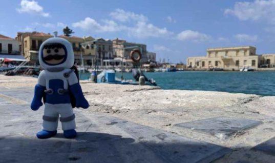 Καμπάνια Υποστήριξης της πρώτης Αεροδιαστημικής Αποστολής από την Κρήτη