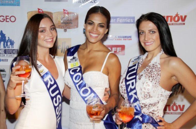 Διαγωνισμός Μις Παγκόσμιος Τουρισμός στην Αθήνα