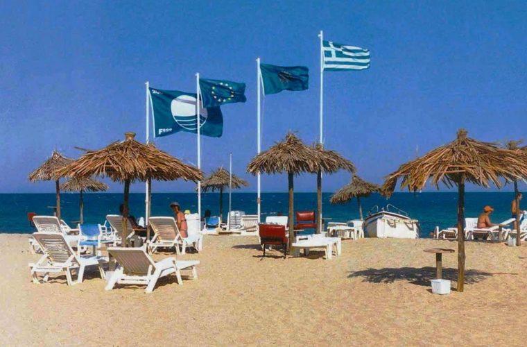 """Αφαίρεση του βραβείου """"Γαλάζια Σημαία"""" από τριανταοκτώ (38) ελληνικές ακτές."""