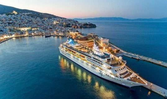 Καθηλωμένος στα 500 εκατ. ο τζίρος της κρουαζιέρας στην Ελλάδα