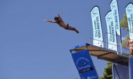 «Agios Nikolaos Cliff Diving 2018»  Το κορυφαίο αθλητικό σόου του καλοκαιριού