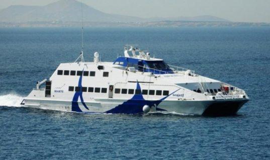 """Συνελήφθη ο πλοίαρχος του """"Sea Jet II""""- Δεν περίμενε για να παραλάβει ασθενή"""