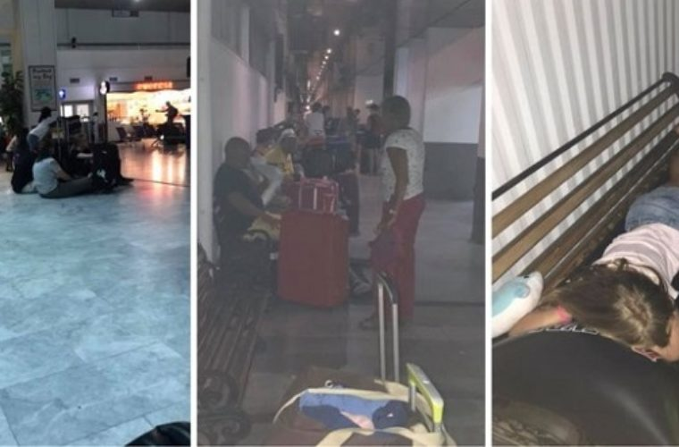 Η TUI τους παράτησε στο αεροδρόμιο Ηρακλείου (Εικόνες σοκ)