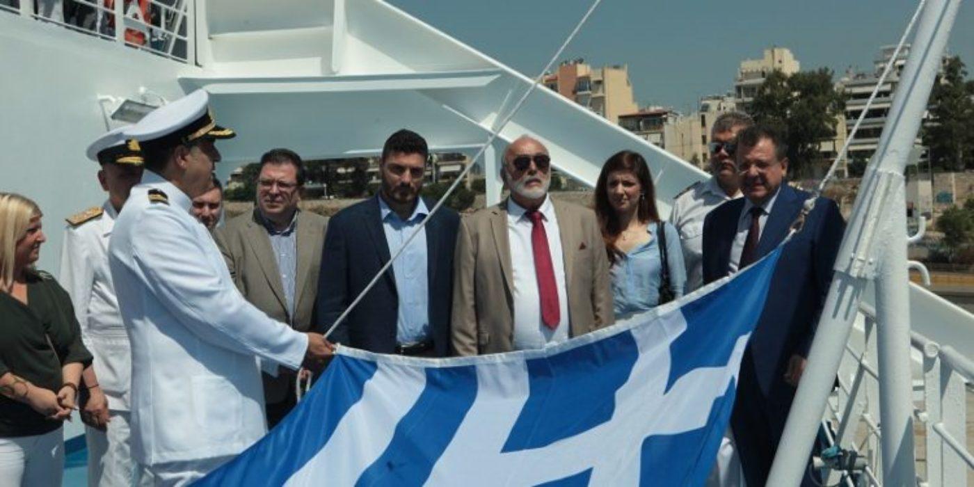 Εγκαίνια με λαμπρότητα στον Πειραιά για την νέα γραμμή των Μινωικών για Χανιά (Pics&Video)