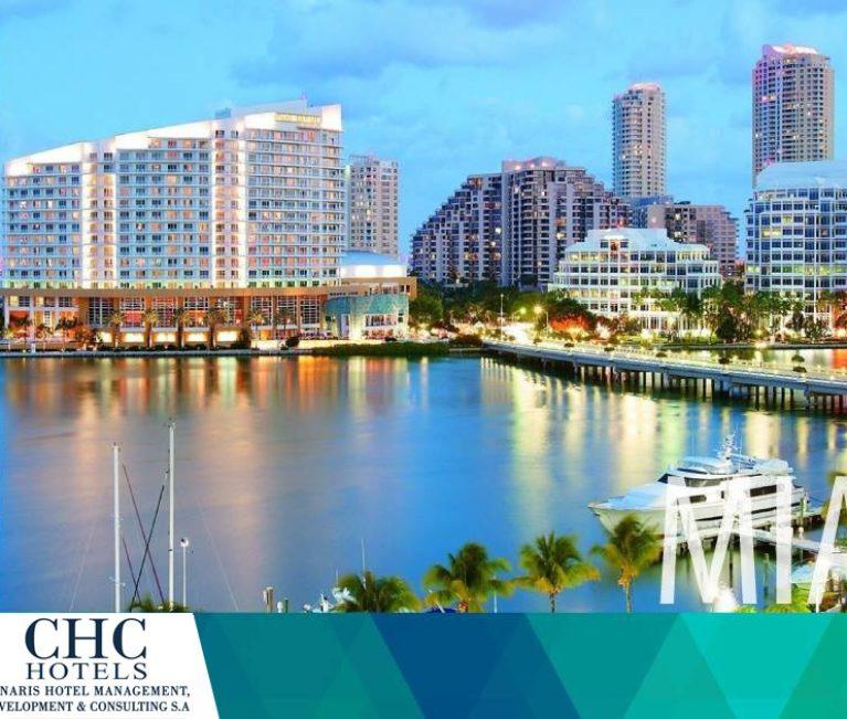 Βραβείο για την εταιρεία Chnaris Hotel Management, Development & Consulting S.A. στο Μαϊάμι
