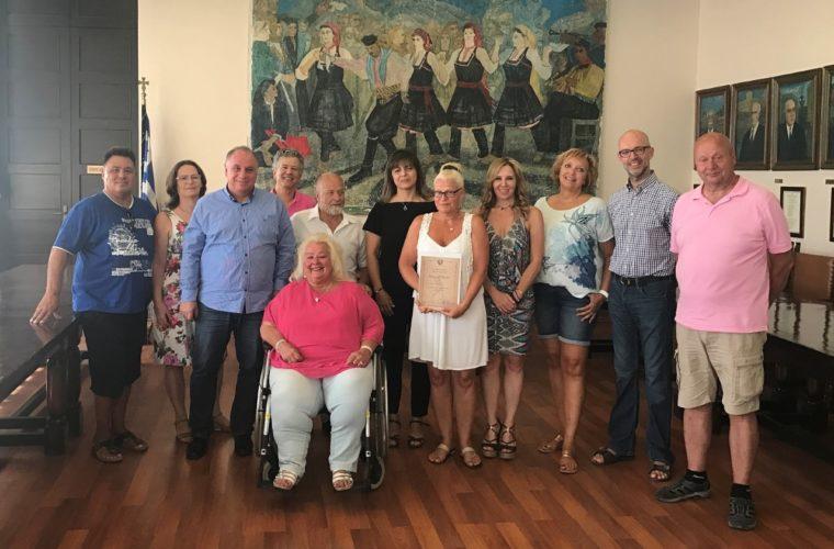 Νέες βραβεύσεις repeaters στη Ρόδο- Τιμήθηκαν για άλλη μία φορά από το Δήμο Ρόδου συχνοί επισκέπτες του νησιού.
