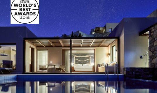 T+L Awards 2018: Eλληνικά νησιά και ξενοδοχεία στα καλύτερα στον κόσμο- Δείτε ποια