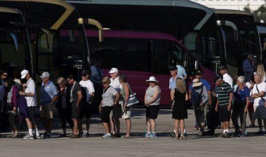 Αυξημένες οι τουριστικές αφίξεις τον Ιούνιο