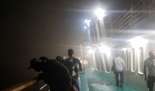 Οι πρώτες εικόνες και βίντεο μέσα από το πλοίο «Ελευθέριος Βενιζέλος» της ΑΝΕΚ (Pics & Video)