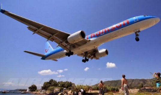 Πιτσιρικάς εκτινάχθηκε κατά την απογείωση αεροπλάνου στην Σκιάθο