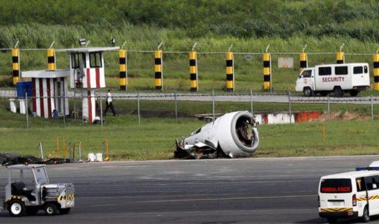 Βίντεο: Η στιγμή του πανικού από την αναγκαστική προσγείωση Boeign 737 στο αεροδρόμιο της Μανίλας