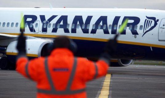 Ακυρώνονται δρομολόγια της Ryanair λόγω απεργίας των πιλότων