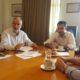 Ο Υπουργός Εσωτερικών Αλέξης Χαρίτσης στα γραφεία του Οργανισμού Λιμένος Ηρακλείου