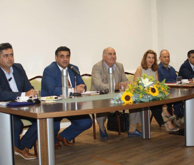 Συνάντηση των διευθυντών ξενοδοχείων της Κρήτης στο Κολυμπάρι νομού Χανίων