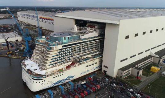 Το κρουαζιερόπλοιο των 700 εκατ. ευρώ που χαρακτήρισαν πλωτή πολιτεία
