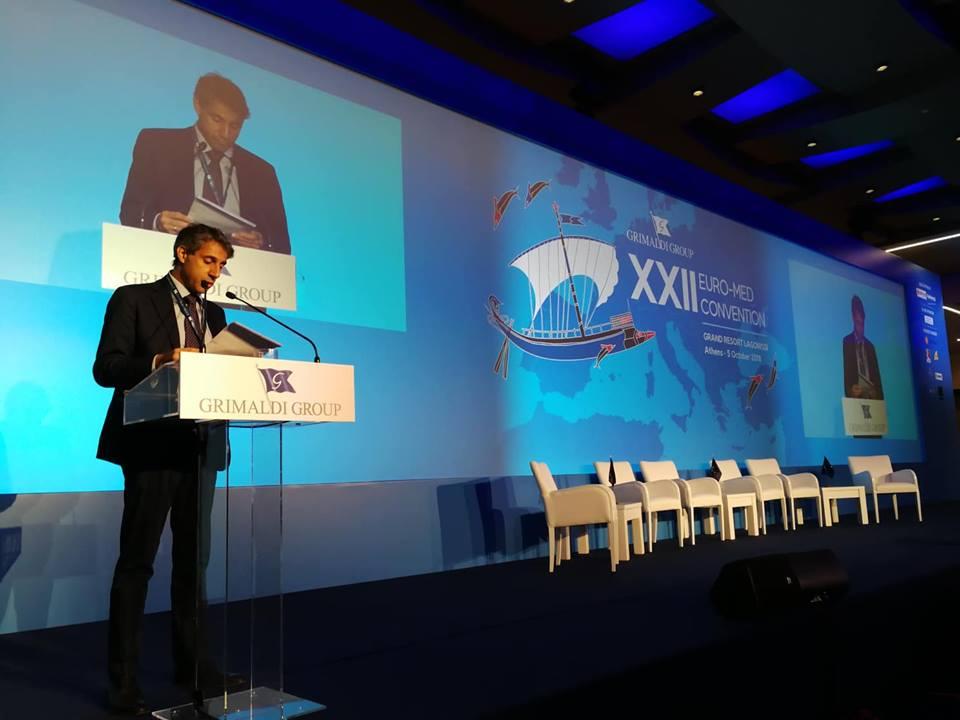 Ο κ. Paul Κυπριανού που άνοιξε με την ομιλία του τις εργασίες
