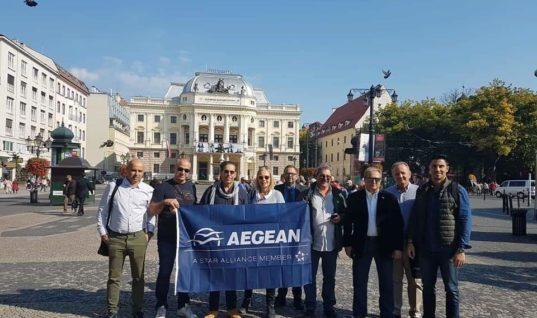 Η AEGEAN στην Σλοβακία
