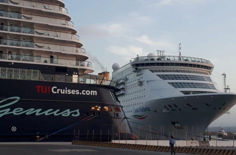 Ηράκλειο: Περισσότεροι από 8000 επιβάτες κρουαζιέρας Homeport