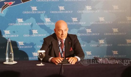 Εμμ. Γκριμάλντι: Τι είπε για την ακτοπλοϊκή γραμμή των Χανίων