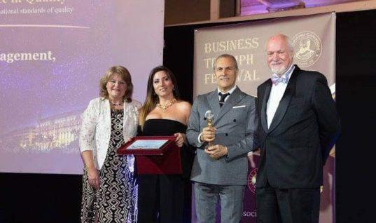 Σαρώνει τα βραβεία η CHC hotels του Ζαχ. Χναρη για το management ξενοδοχειακών μονάδων