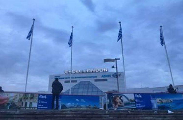 Ψηλά οι Ελληνικές σημαίες στην WTM (Pics)