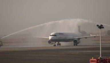 """Επέστρεψε στο αεροδρόμιο """"Μακεδονία"""" η Lufthansa μετά από 17 χρόνια απουσίας"""