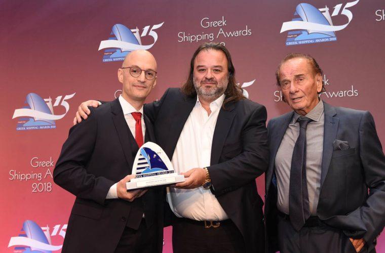 Η Seajets βραβεύτηκε ως «Επιβατηγός Εταιρεία της Χρονιάς»