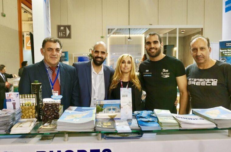 «Ξεχωριστή η παρουσία της Ρόδου Διεθνή Έκθεση Athens International Tourism Expo 2018»